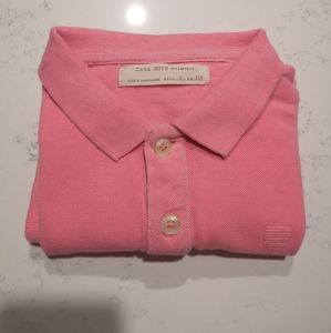 Zara boy pink polo